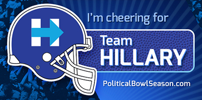 Download Team Hillary Facebook Cover Image